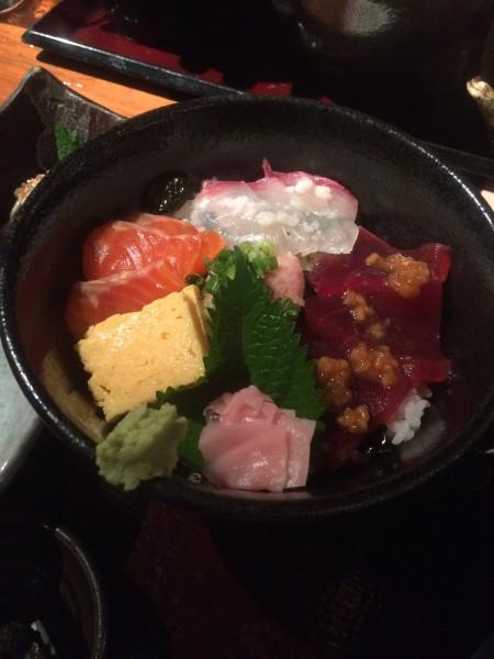 なめろうのお茶漬けが美味。「咲くら 横浜店」