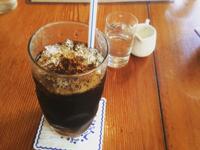 猛烈な暑さ!シャリシャリのアイスコーヒー「K's Cafe」